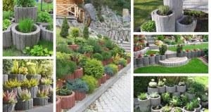 Nápady na využití svahovek v zahradě: 25+ nápadů