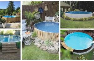 Upravte si prostor kolem bazénu: 25+ překrásných inspirací