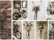 Vyrobte si ze starého kola jednu z těchto krásných dekorací!