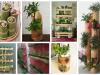 Využijte obyčejnou bambusovou tyč jako originální květináč - Prima inspirace