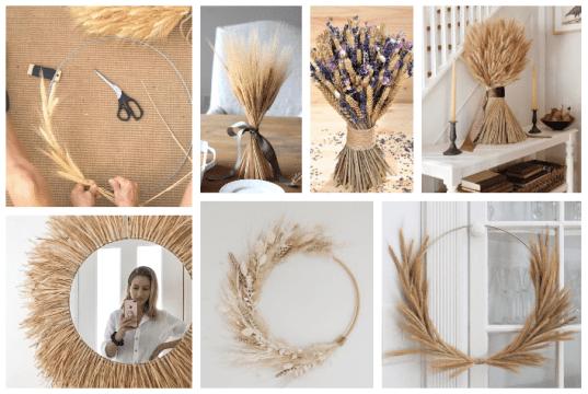 20+ krásných letních dekorací - Využijte obyčejné slaměnky!