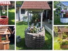 Inspirace na krásné dekorativní studny