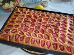 Recept na jahodovou buchtu