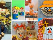 Vyrobte si s dětmi dekorativního strašáka