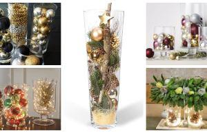jednoduchá a krásná dekorace ve skleněné nádobě – inspirujte se