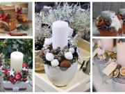 nečekejte až na adventní svíčku: vytvořte si krásný zimní svícen