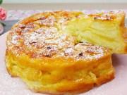 víc jablek než těsta – vynikající krémový jablečný koláč hotový za pár minut!