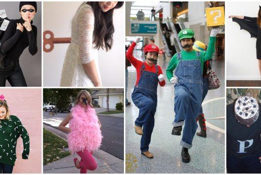 halloweenské kostýmy na poslední chvilku: nápady na jednoduché kostýmy zhotovené během chvilky!