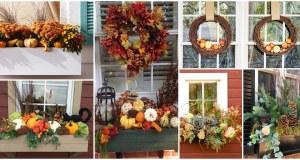 inspirace na okenní výzdobu pro celé podzimní období