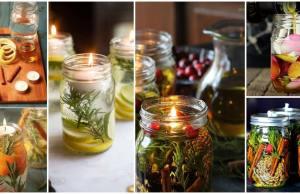 olejové svíčky