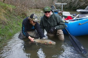 Dirty Water Steelhead - Wild Buck - Photo by David Kopij - Lineside Productions