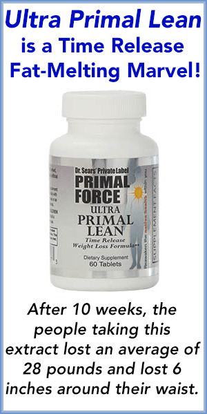 Ultra Primal Lean is a Time Release Fat-Melting Marvel