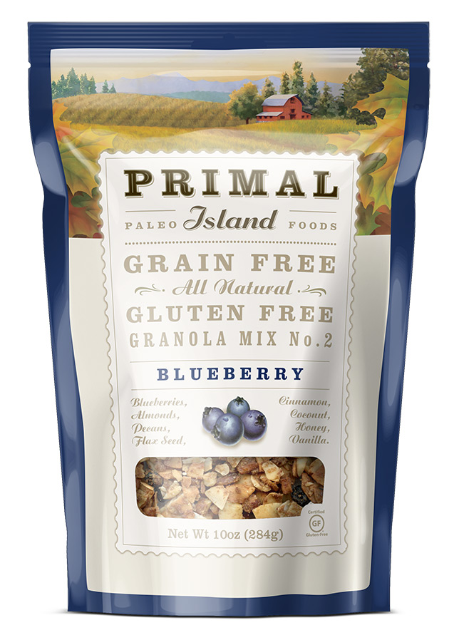 Blueberry Grain Free Granola