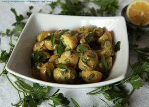 Mayonnaise Free Potato Salad - Primal Mediterranean Gourmet
