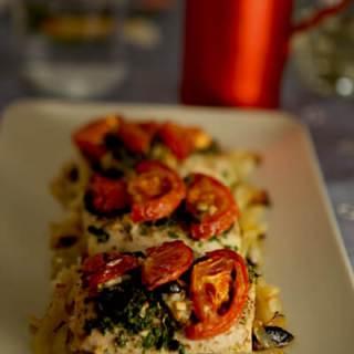 Baked Mediterranean Mahi-Mahi