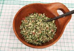 Cauliflower Tabbouleh - Grain Free