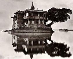 Photograph of the Jinshan Temple of Fuzhou taken by John Thomson