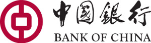 Chinese Coins and Bank Logos