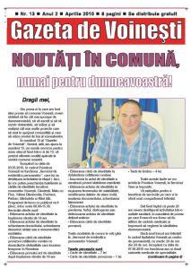 Gazeta de Voinesti nr. 13