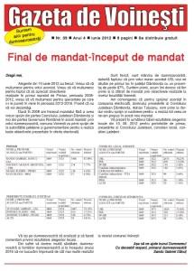 Gazeta de Voinesti nr. 39