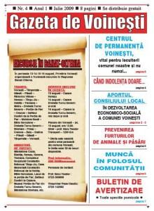 Gazeta de Voinesti nr.4