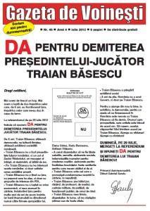 Gazeta de Voinesti nr. 40