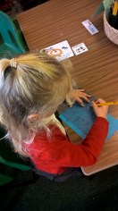 Stencils and letter identification