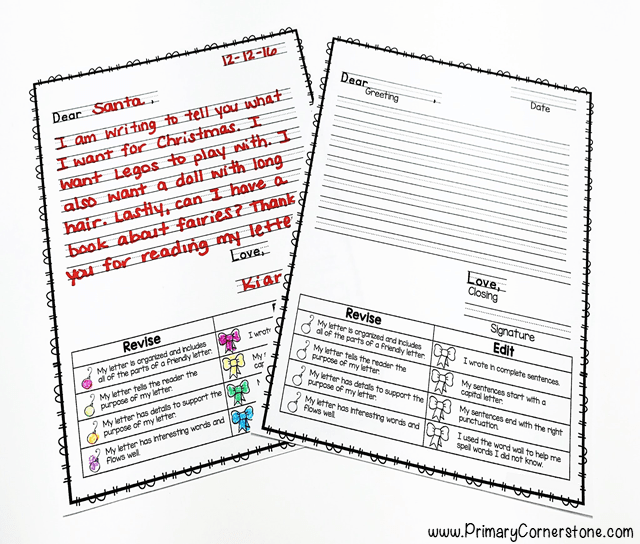 Revising and editing are hard concepts, but students can better understand them when they have a rubric right in front of them.