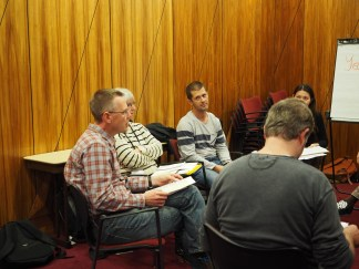 More examiners reviewing the viva questions