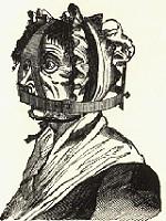 woman wearing a brank
