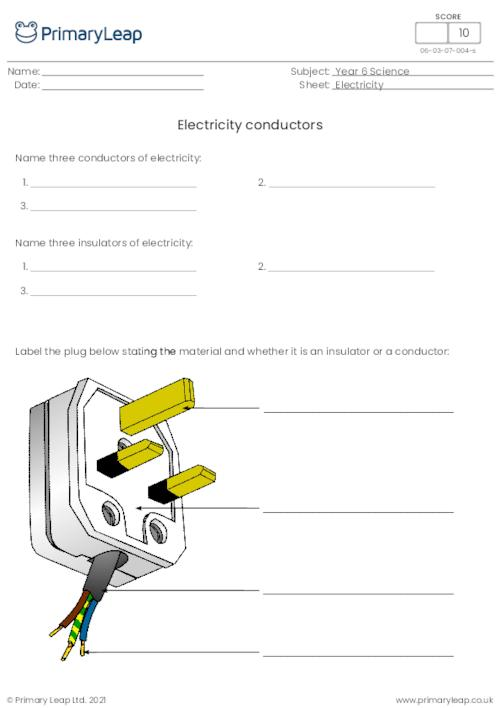 Year 6: Science Printable Resources & Free Worksheets for