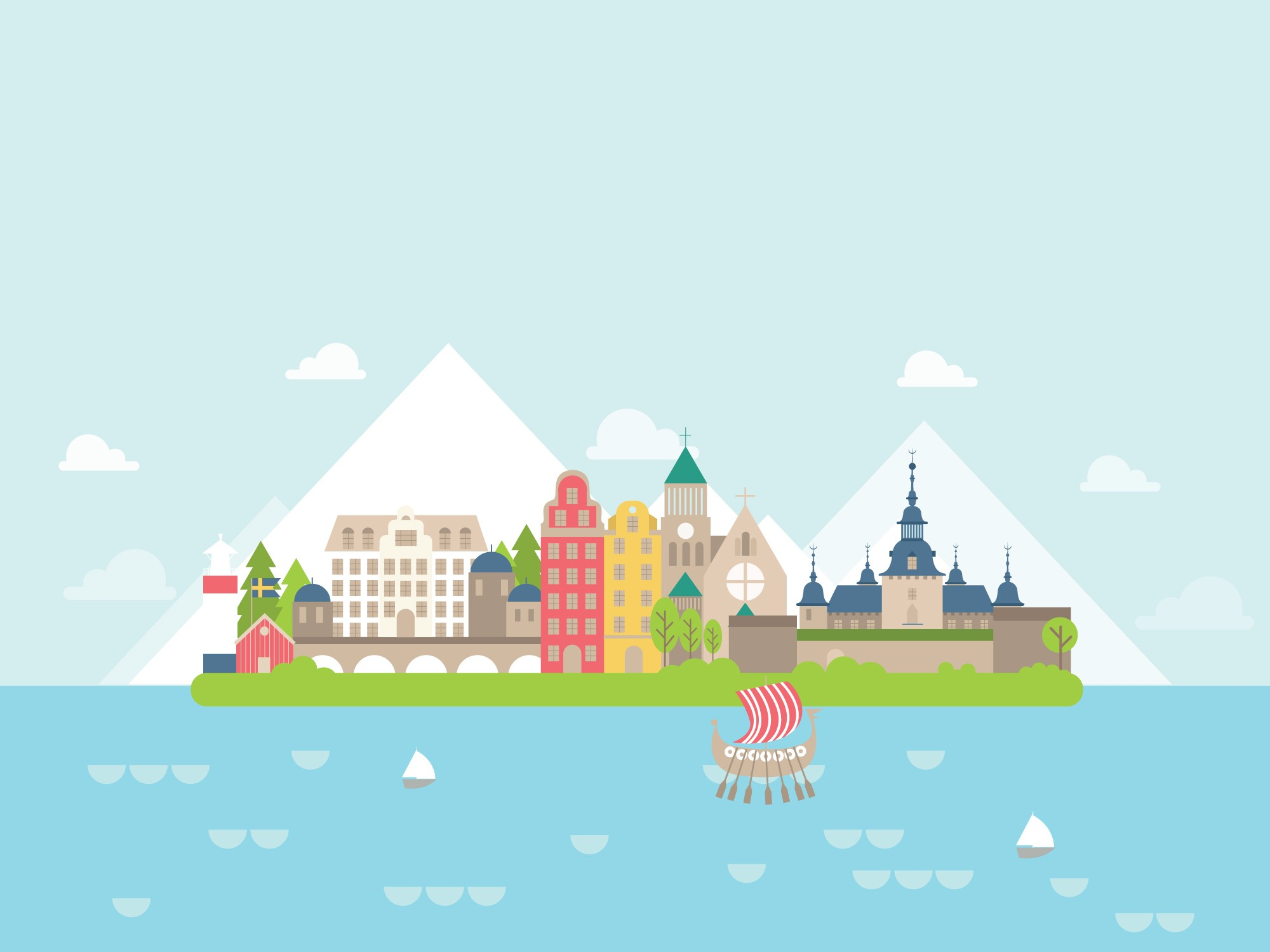 Geography Sweden Level 1 Activity For Kids