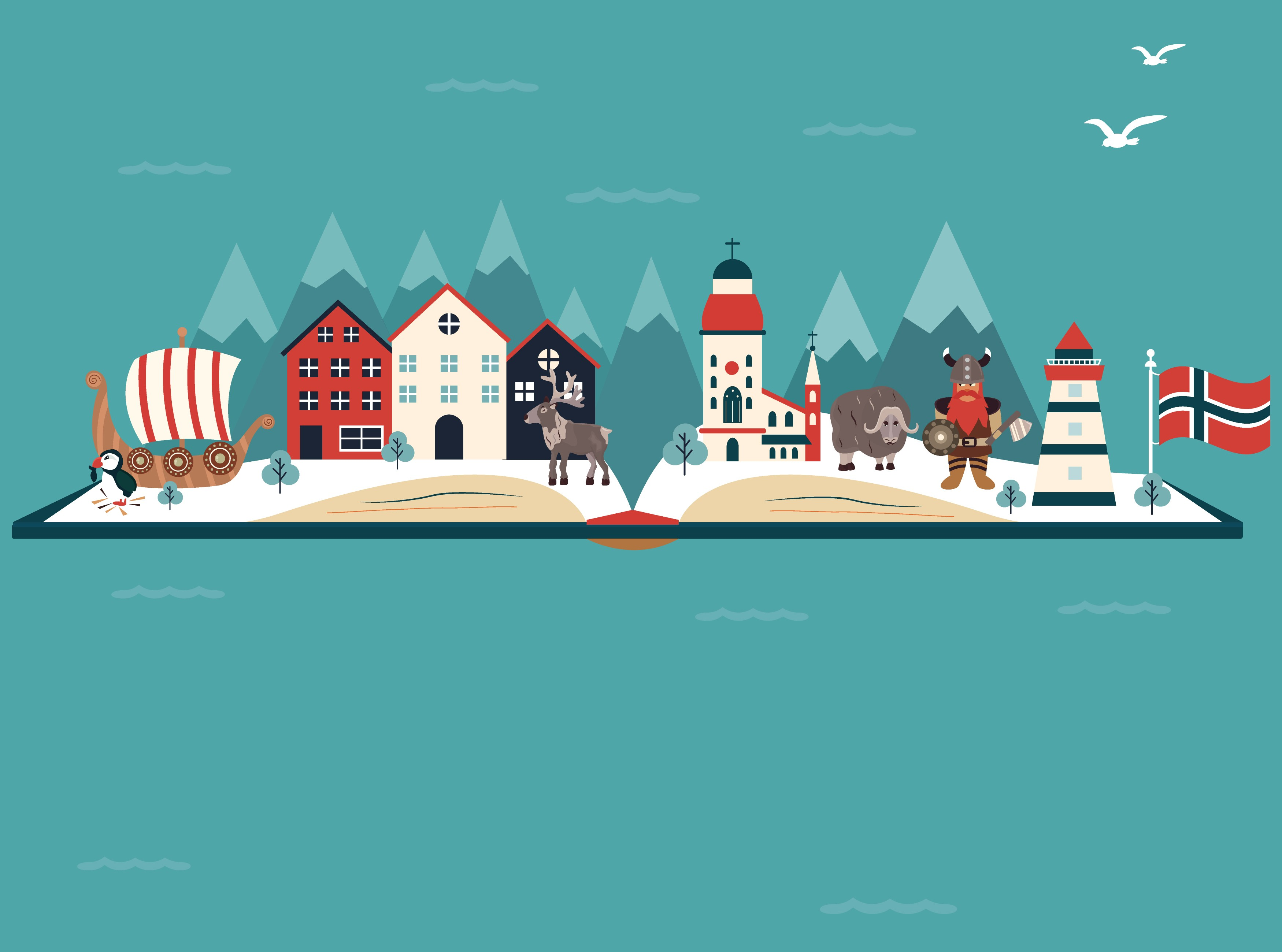 Geography Norway Level 1 Activity For Kids