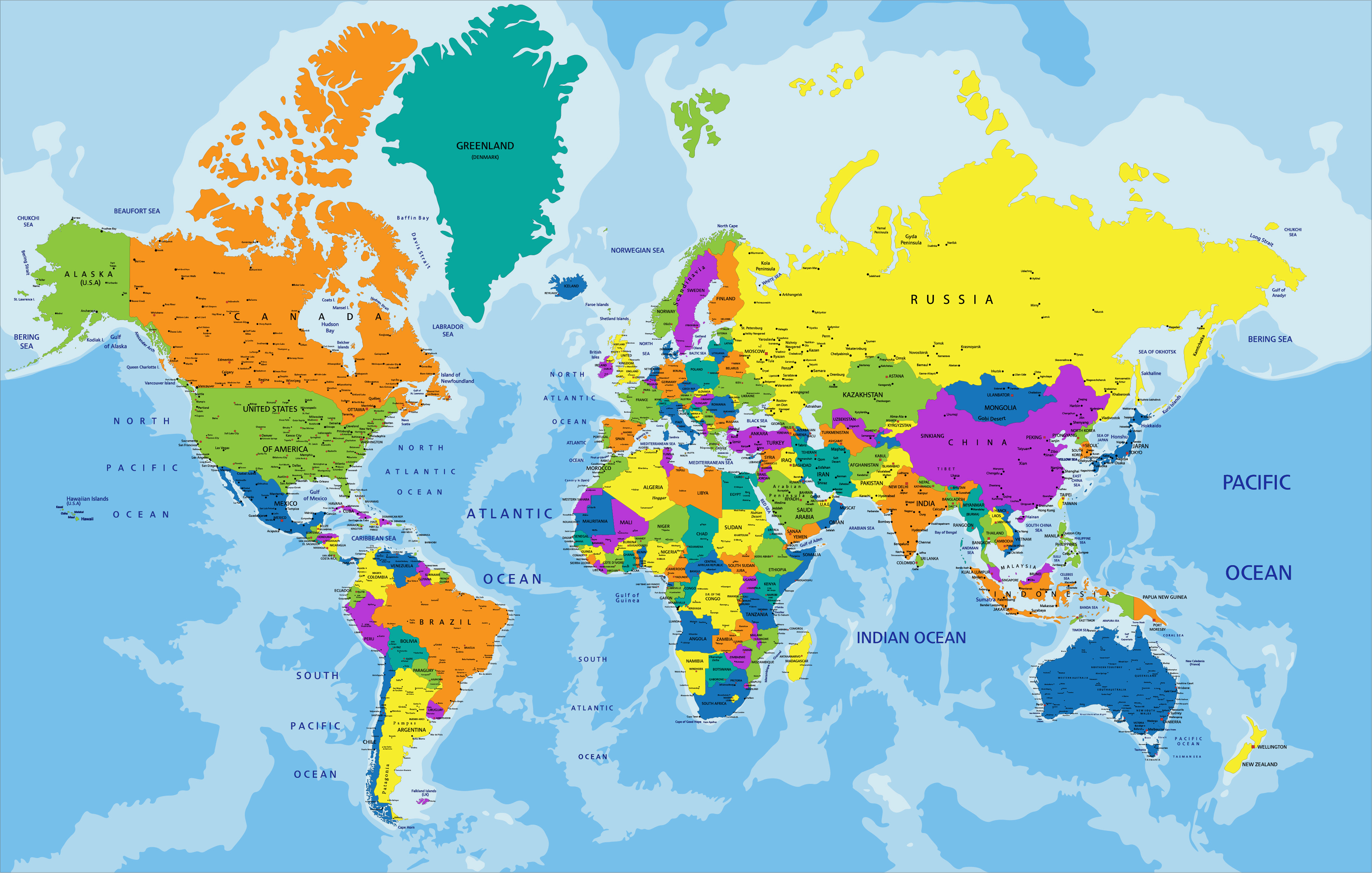 Geography Continental Drift Level 1 Activity For Kids