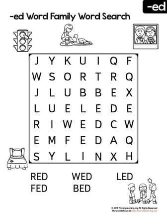 Free Kindergarten Worksheets & Printables