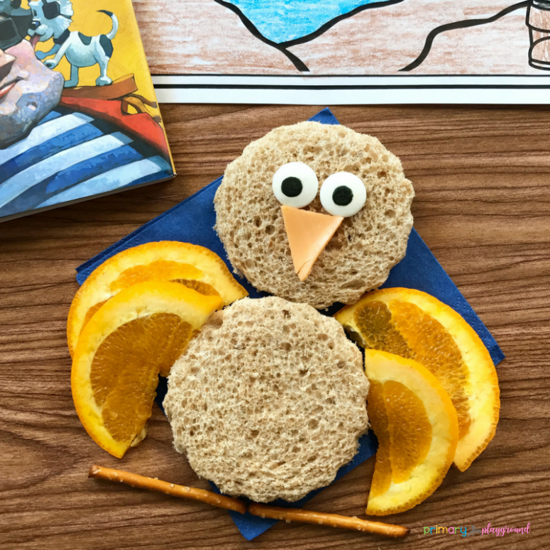 Literacy Snack Idea Parrot