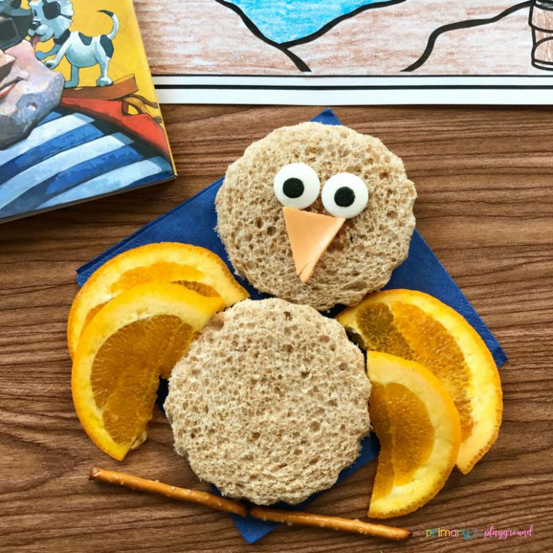 Literacy Snack Idea Parrot
