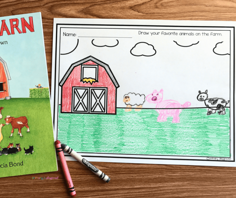 Literacy Snack Idea Big Red Barn
