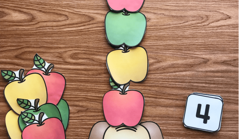 Free Printable Apple Counting