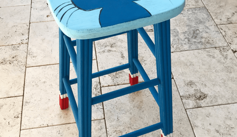 DIY Teacher Stool