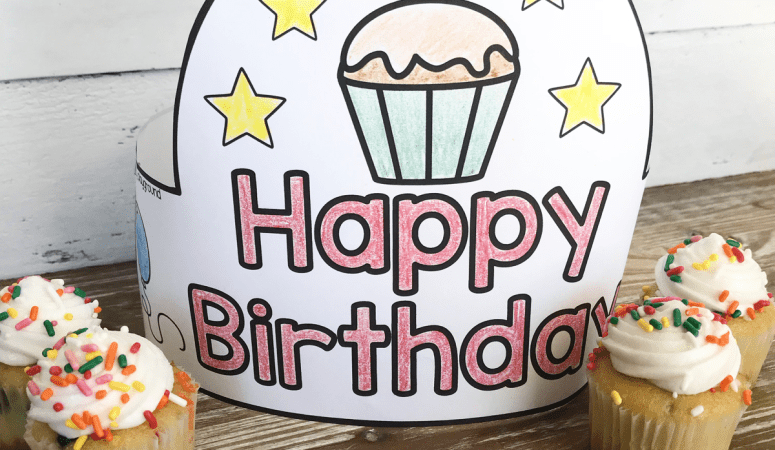 Free Printable Birthday Hat