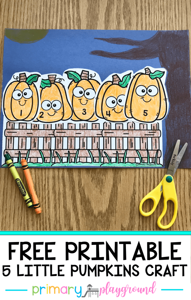 Five Little Pumpkin Craft