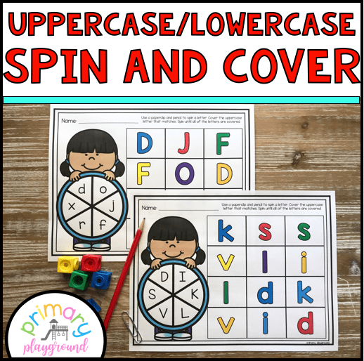 Uppercase and Lowercase Spin and Cover