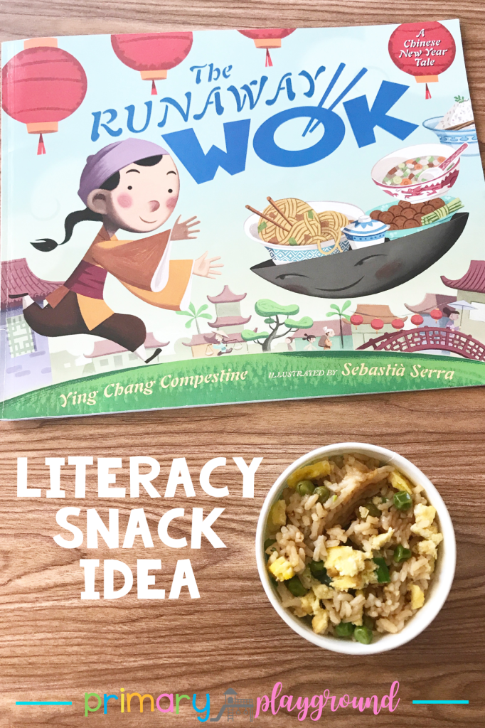 literacy snack idea Chinese new year - The Runaway Wok