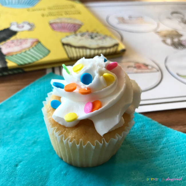 literacy snack idea cupcake - If You Give A Cat A Cupcake