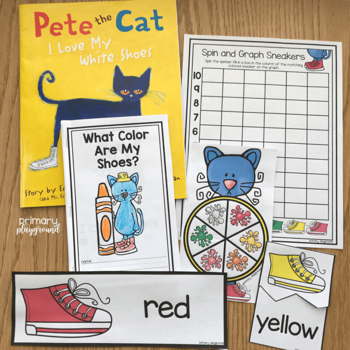 Color Book Study Pete The Cat