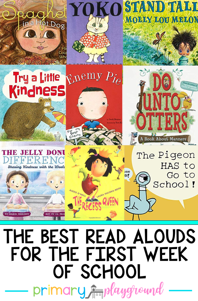 Looking for some new real aloud ideas for the new school year? Come check out The Best Read Alouds For Back To School and get some new ideas!
