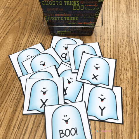 Boo Beginning Sounds Game