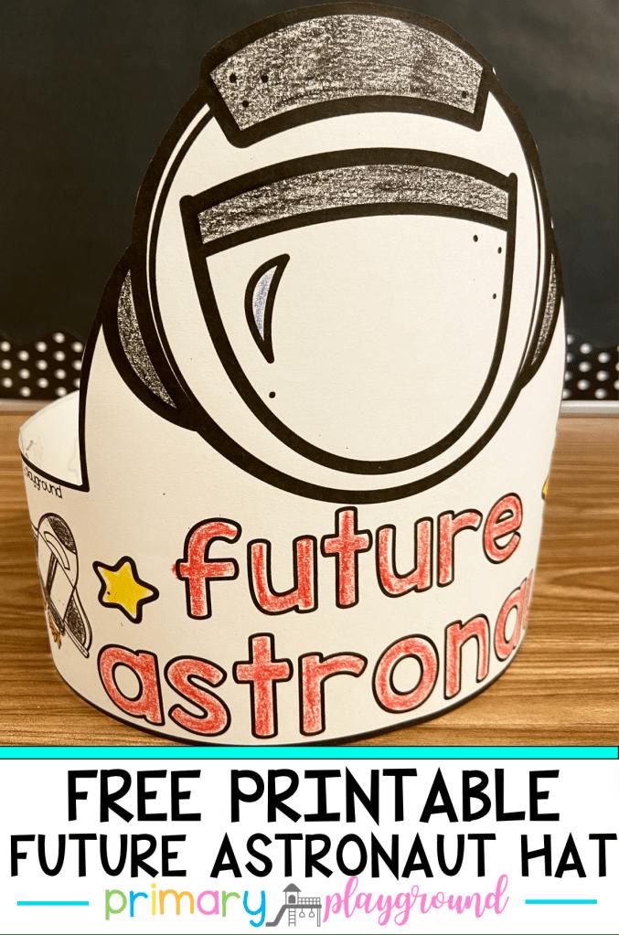 Free Printable Astronaut Hat