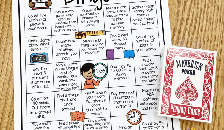 Free Printable Math Bingo